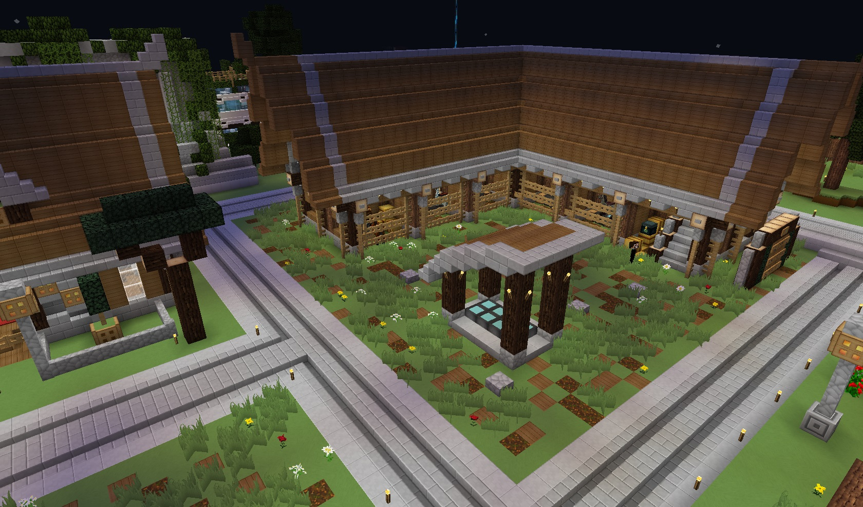 Haras de la vallée Minecraft Project