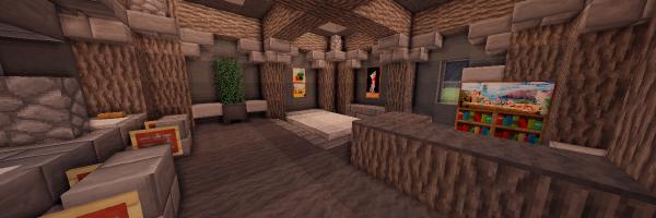 notre chambre est dsormais termine jespre que ce tuto vous aura plu et vous aura t utile nhsitez pas partager cet article via vos rseaux - Chambre Moderne Minecraft