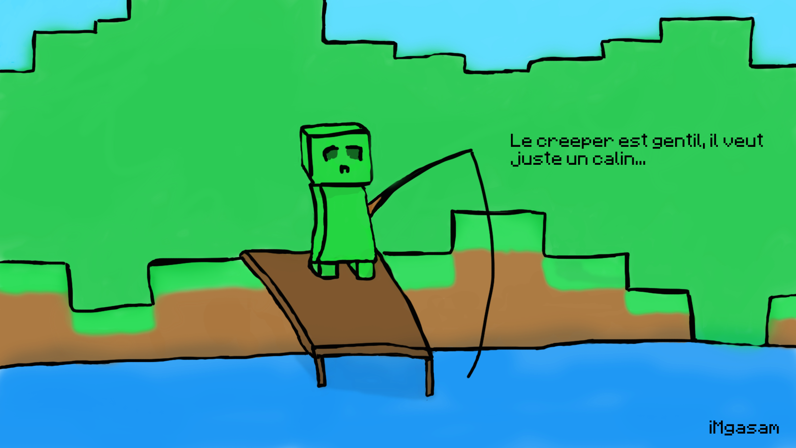 Dessin Minecraft Facile A Faire