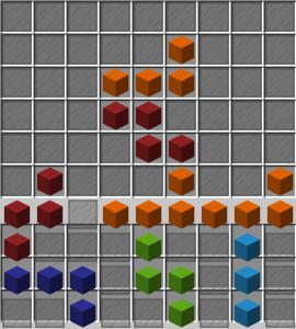 Partie de Tetris